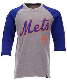 Big Boys New York Mets Super Rival Raglan T-Shirt
