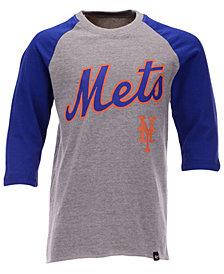 '47 Brand Big Boys New York Mets Super Rival Raglan T-Shirt