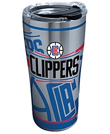 Los Angeles Clippers 20oz Paint Stainless Steel Tumbler