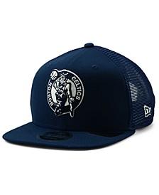 Boston Celtics Dub Fresh Trucker 9FIFTY Snapback Cap