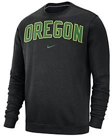 Men's Oregon Ducks Club Fleece Crewneck Sweatshirt