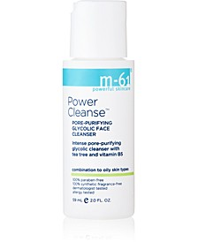 Power Cleanse - Travel Size Pore Purifying Glycolic Cleanser, 2 oz