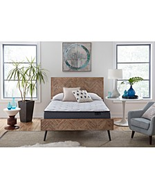 "Luxury Almond 13"" Plush Mattress- Twin"