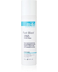 Fast Blast 2 Minute Vitamin C Facial Mask, 3.4 oz