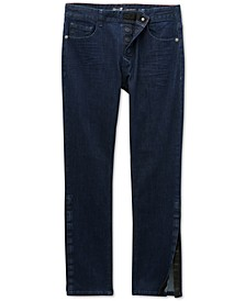 Seven7 Men's Vouvant Adaptive Slim-Straight Fit Power Stretch Textured Jeans