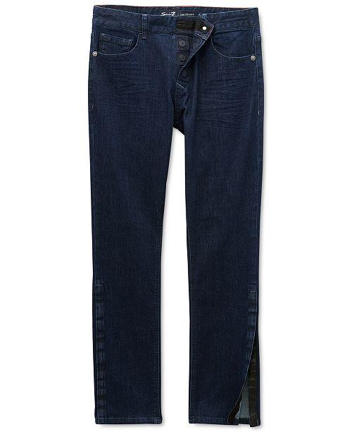 Seven7 Seven7 Men's Vouvant Adaptive Slim-Straight Fit Power Stretch Textured Jeans