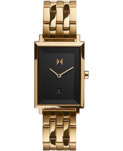 MVMT Women's Mason Gold-Tone Stainless Steel Bracelet Watch 24mm