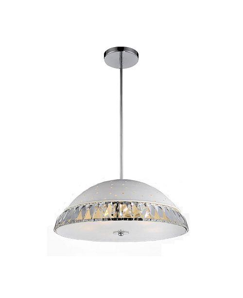 CWI Lighting Dome 6 Light Chandelier
