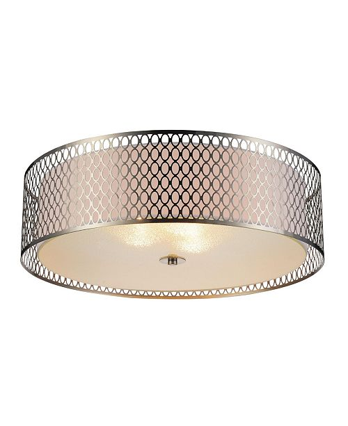CWI Lighting Mikayla 5 Light Flush Mount