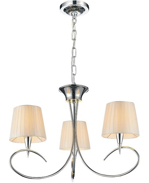 CWI Lighting CLOSEOUT! Accomplished 3 Light Chandeliers