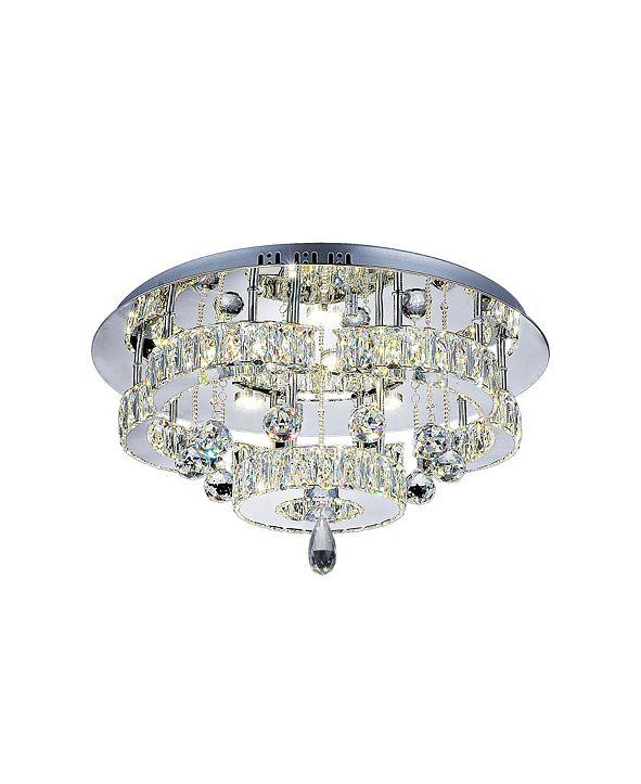 CWI Lighting Cascata LED Flush Mount