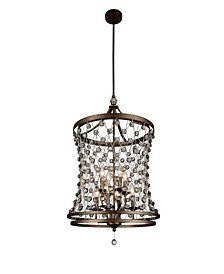 CLOSEOUT! Tieda 8 Light Up Chandelier