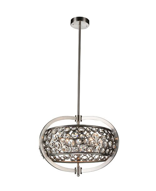CWI Lighting CLOSEOUT! Wallula 5 Light Chandelier