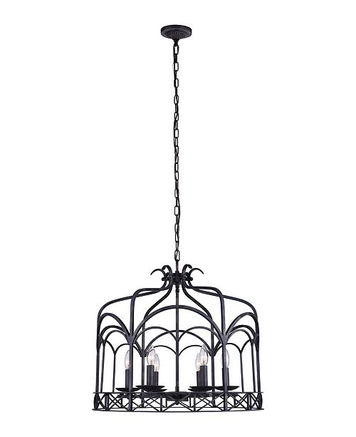 CWI Lighting CLOSEOUT! Sequoia 6 Light Chandelier