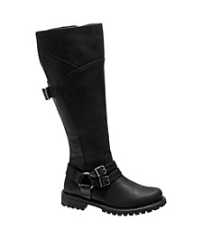 Harley-Davidson Women's Lomita Motorcycle Lug Sole Boot