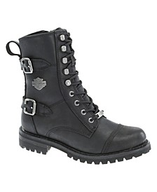 Harley-Davidson Women's Balsa Motorcycle Lug Sole Boot