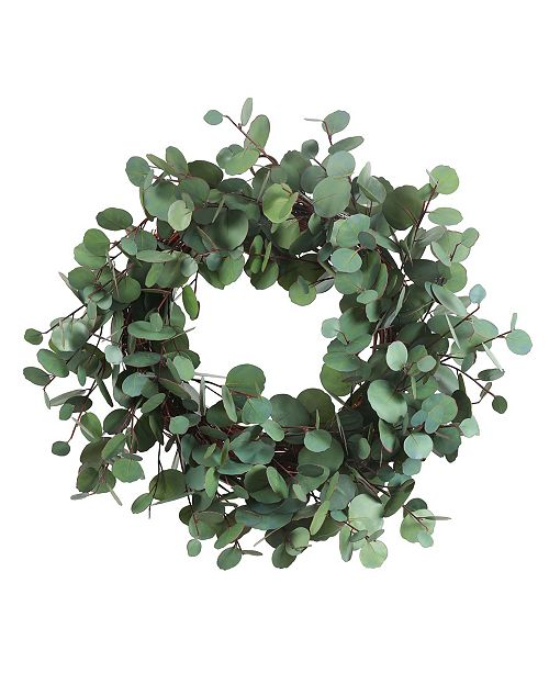 Winward Silks Winward International Eucalyptus Wreath