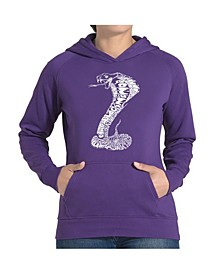 Women's Word Art Hooded Sweatshirt -Tyles Of Snakes