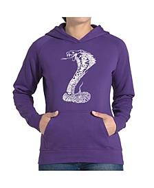Women's Word Art Hooded Sweatshirt -Tyles Of Snakes