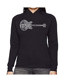 Women's Word Art Hooded Sweatshirt -Blues Legends