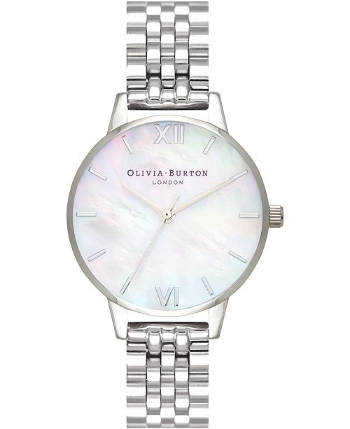 Olivia Burton Women's Stainless Steel Bracelet Watch 30mm