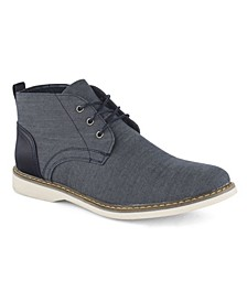 Men's Chambray Mid-Top Oxfords