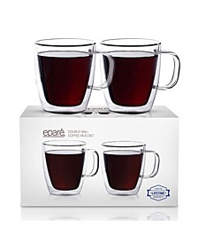 Epare 12 Oz Double-Wall Mug- Set of 2