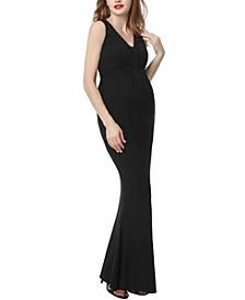 Edrei Maternity Mermaid Maxi Dress