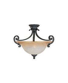 Designers Fountain Barcelona Semi-Flush