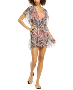Becca Animal Kingdom Printed Cover-Up Women's Swimsuit