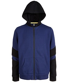Big Boys Colorblocked Zip-Up Hoodie, Created For Macy's