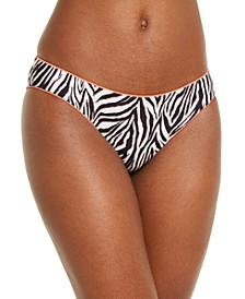 Animal Kingdom Reversible Printed Hipster Bottoms