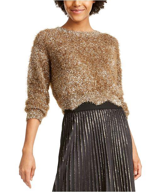 Lucy Paris Lola Metallic Eyelash Sweater