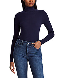 Lauren Ralph Lauren Ribbed Turtleneck Sweater, Regular & Petite Sizes