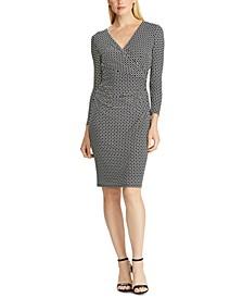 Geo-Print Jersey Dress