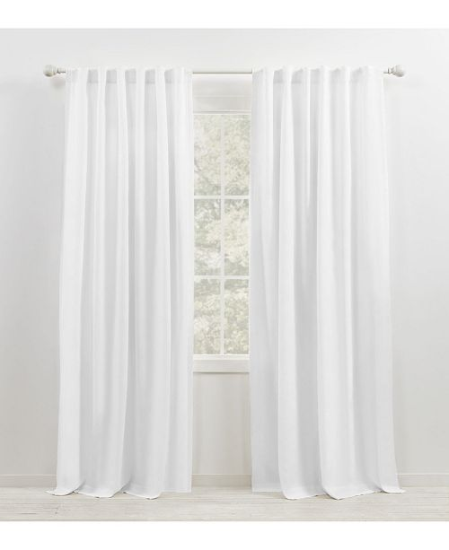 "Lauren Ralph Lauren Leanne Tab/Rod Pocket Curtain Panel, 50"" x 84"""