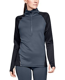 ColdGear® Colorblocked Half-Zip Training Top