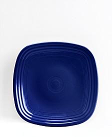 Cobalt Square Salad Plate