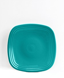 Turquoise Square Salad Plate