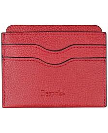 Men's Pebble Leather Card Case