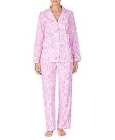 Women's Cotton Jersey Pajama Set