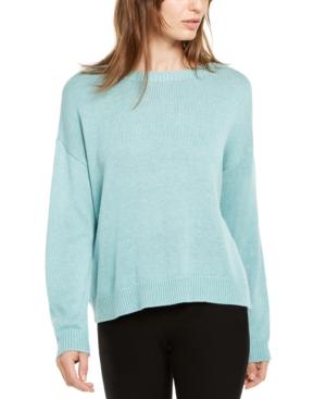 Eileen Fisher Sweaters ROUND-NECK SWEATER, REGULAR & PETITE