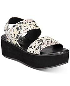 Women's Sparkk Platform Sandals, Created for Macy's