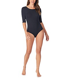 Women's Softwear With Stretch Half-Sleeve Bodysuit