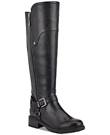 Tealin Wide Calf Riding Boots