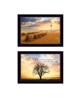 """Amish Country Collection By Lori Deiter, Printed Wall Art, Ready to hang, Black Frame, 20"""" x 14"""""""
