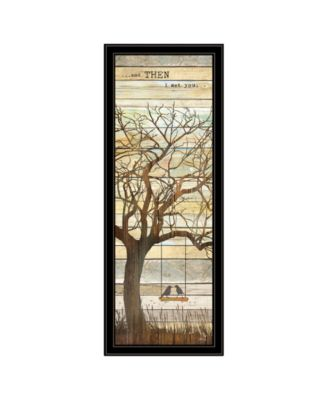 and then I met You by Marla Rae, Ready to hang Framed print, White Frame, 15