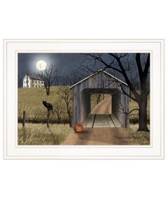 """Sleepy Hollow Bridge by Billy Jacobs, Ready to hang Framed Print, White Frame, 19"""" x 15"""""""