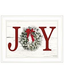 "Christmas Joy by Lori Deiter, Ready to hang Framed Print, White Frame, 21"" x 15"""