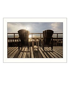 Trendy Decor 4U Front Row Seats By Lori Deiter, Printed Wall Art, Ready to hang Frame Collection